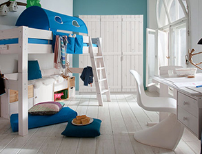 Kinderzimmer Kids Dreams aus massivem Kiefernholz