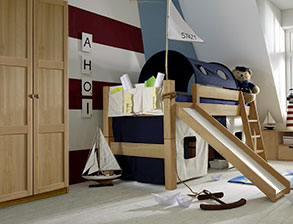 Kinderzimmer Kids Fantasy in Buche natur