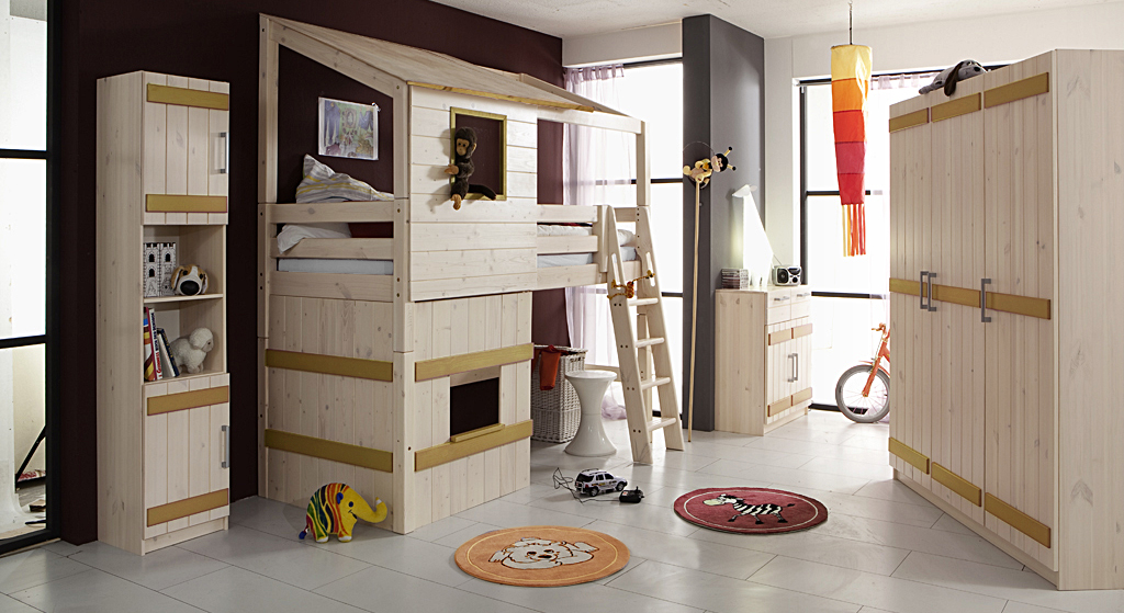 komplettes abenteuer kinderzimmer der serie kids paradise. Black Bedroom Furniture Sets. Home Design Ideas