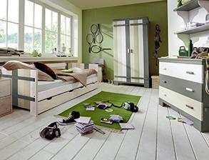 Kinderzimmer komplett einrichten mit Möbeln von BETTEN.de | {Bett kinderzimmer 16}