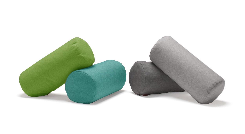 Kissenrolle für Schlafsofas in vielen Farben