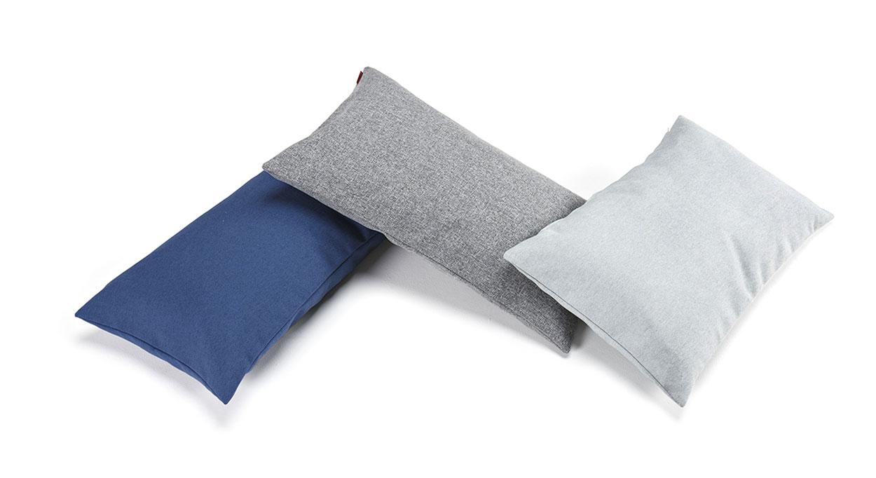 Rechteckige Kissen für Schlafsofas