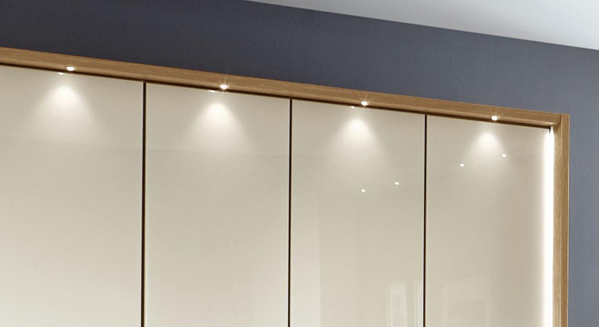 Kleiderschrank Toride mit optionaler LED-Beleuchtung