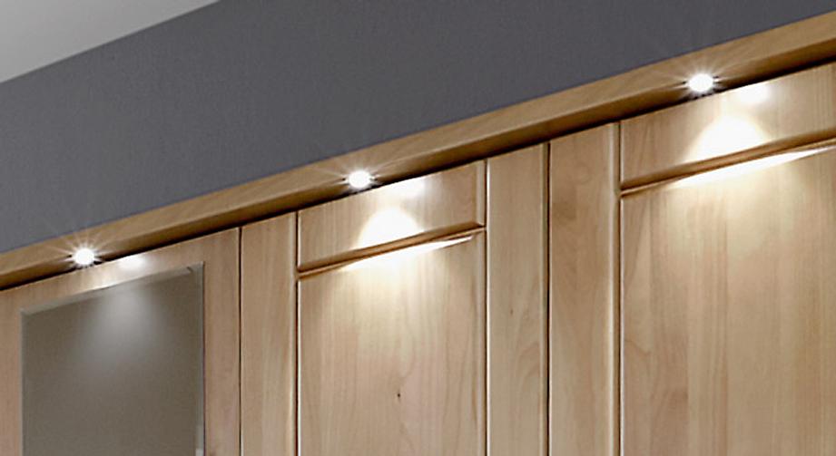 Kleiderschrank Trikomo mit energiesparender LED-Beleuchtung