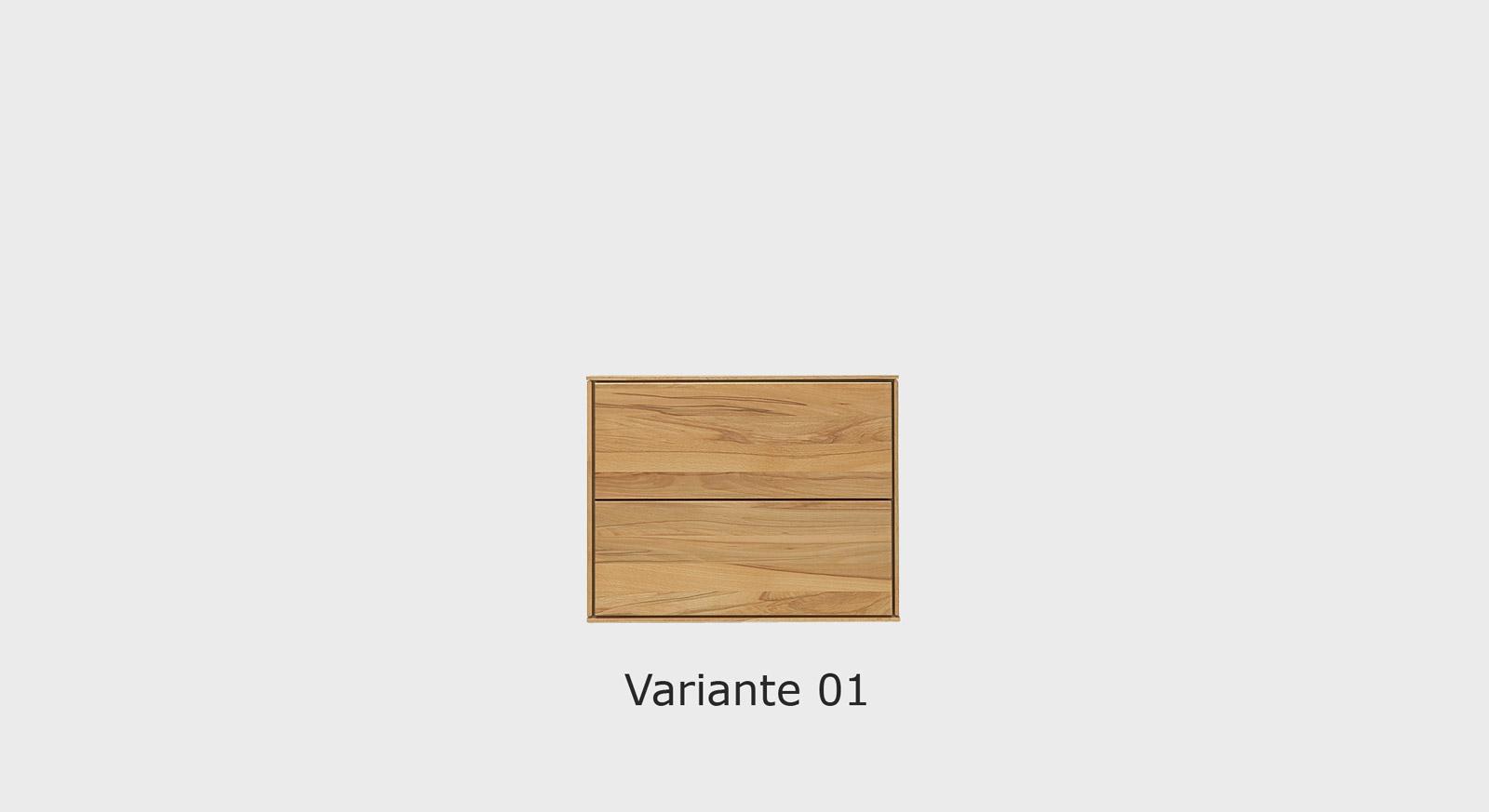 Massivholz-Kommode Aquila in der Variante 01