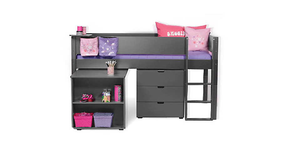 hochbett mit schubladen asoral hochbett loft xl liso mit. Black Bedroom Furniture Sets. Home Design Ideas