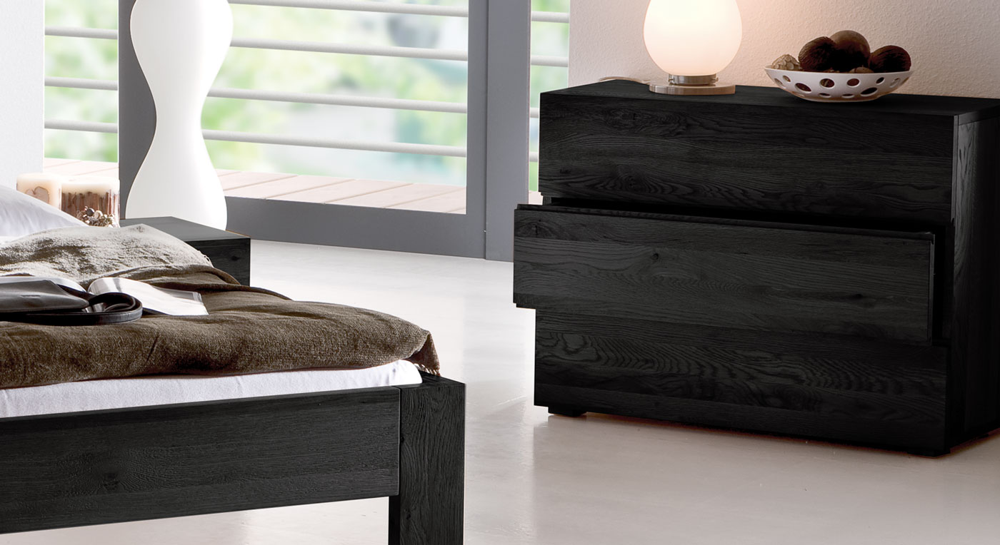 massivholz kommode aus massiver eiche natura. Black Bedroom Furniture Sets. Home Design Ideas