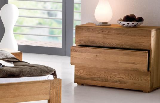 massivholz kommode aus massiver eiche natura. Black Bedroom Furniture Sets. Home Design Ideas