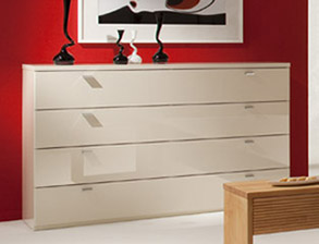 schubladen lowboard in wei 120 cm pharao24 smash. Black Bedroom Furniture Sets. Home Design Ideas