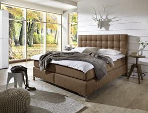 schlafzimmer komplett mit boxspringbett kaufen auf. Black Bedroom Furniture Sets. Home Design Ideas