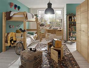 Jugendzimmer komplett einrichten mit m beln von for Jugendzimmer komplett mit etagenbett