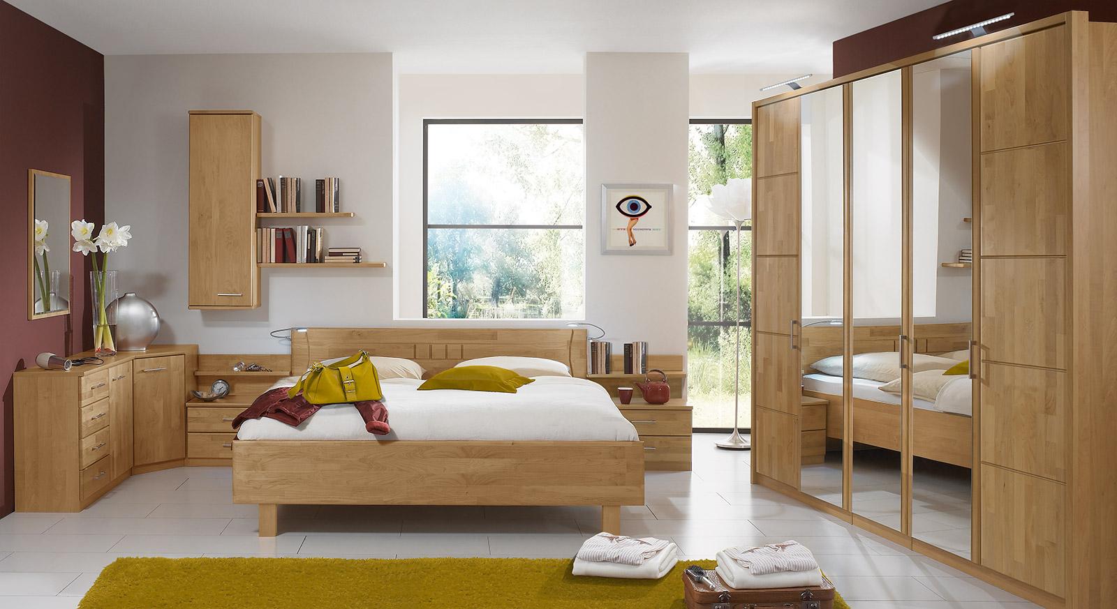 schlafzimmerschrank mit dreht ren in erle teilmassiv beyla On schlafzimmereinrichtungen