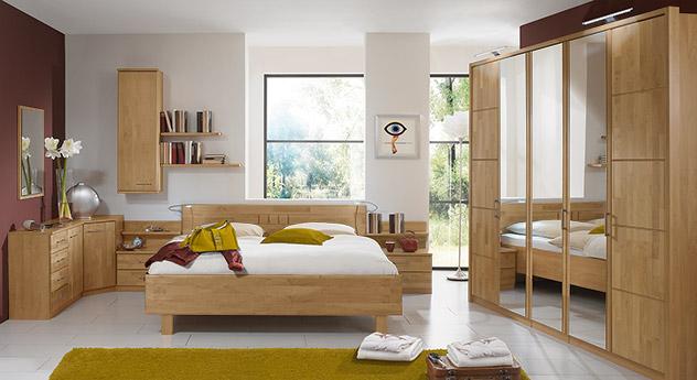 Zubehör für das Komplett-Schlafzimmer Beyla