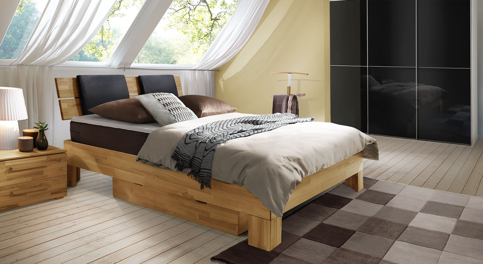 boxspringbett online shop boxspringbetten m bel g nstig. Black Bedroom Furniture Sets. Home Design Ideas