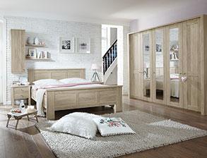 komplett schlafzimmer farim in modernem eiche dekor - Modernes Schlafzimmer Komplett