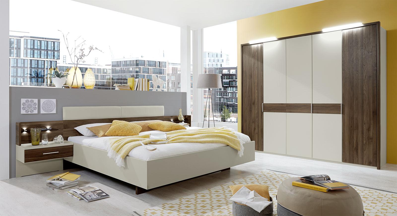 Hochwertiges Komplett-Schlafzimmer Lucea