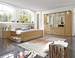 Schlafzimmer aus Massivholz günstig kaufen | BETTEN.de