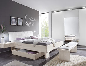 modernes komplett schlafzimmer nemea aus wildbuche - Modernes Schlafzimmer Komplett