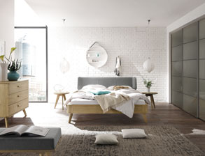 komplette design schlafzimmer g nstig kaufen. Black Bedroom Furniture Sets. Home Design Ideas