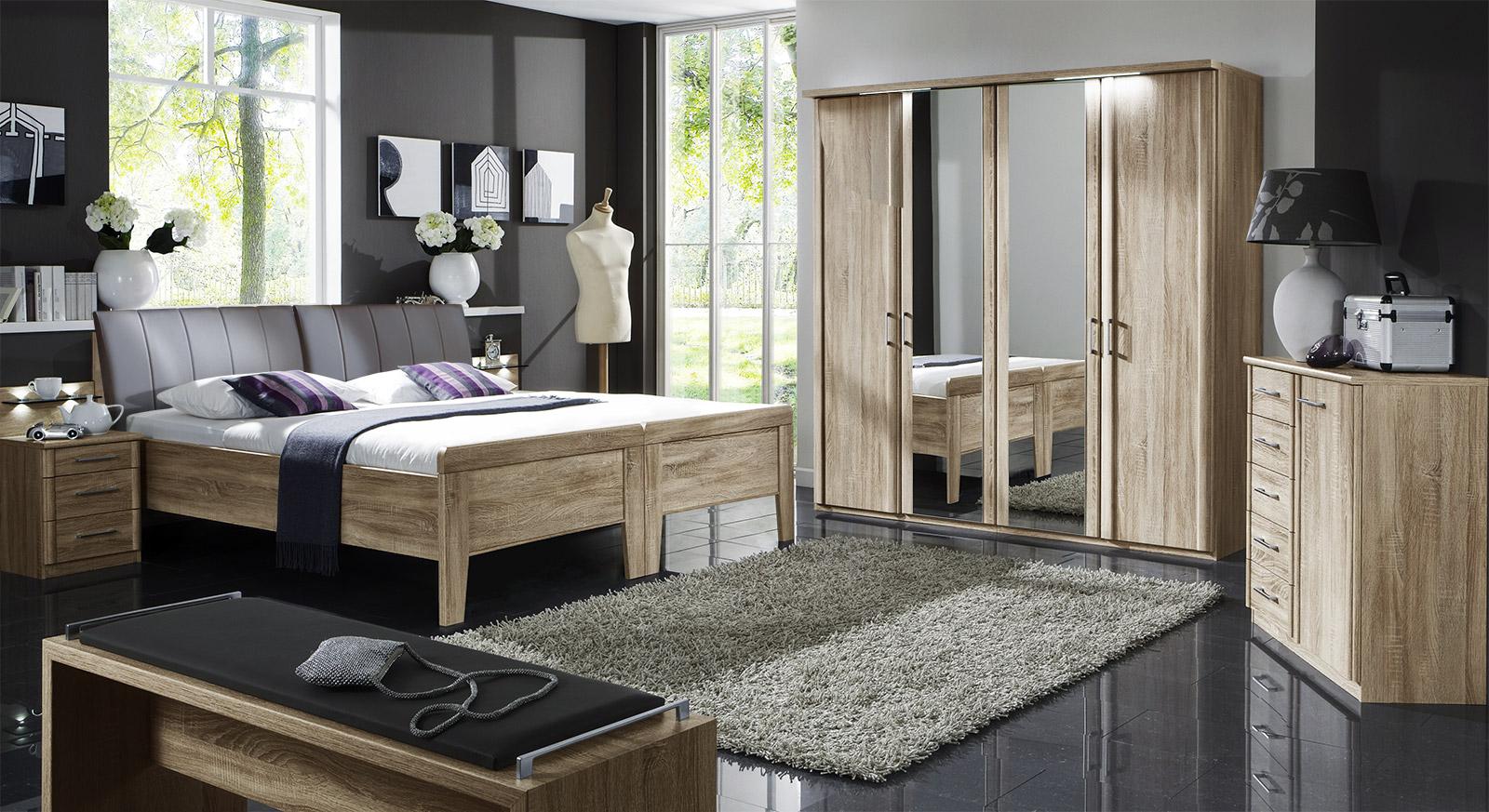 Komplett Schlafzimmer Runcorn mit passenden Produkten