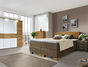 schlafzimmer komplett mit boxspringbett kaufen auf. Black Bedroom Furniture Sets. Home Design Ideas