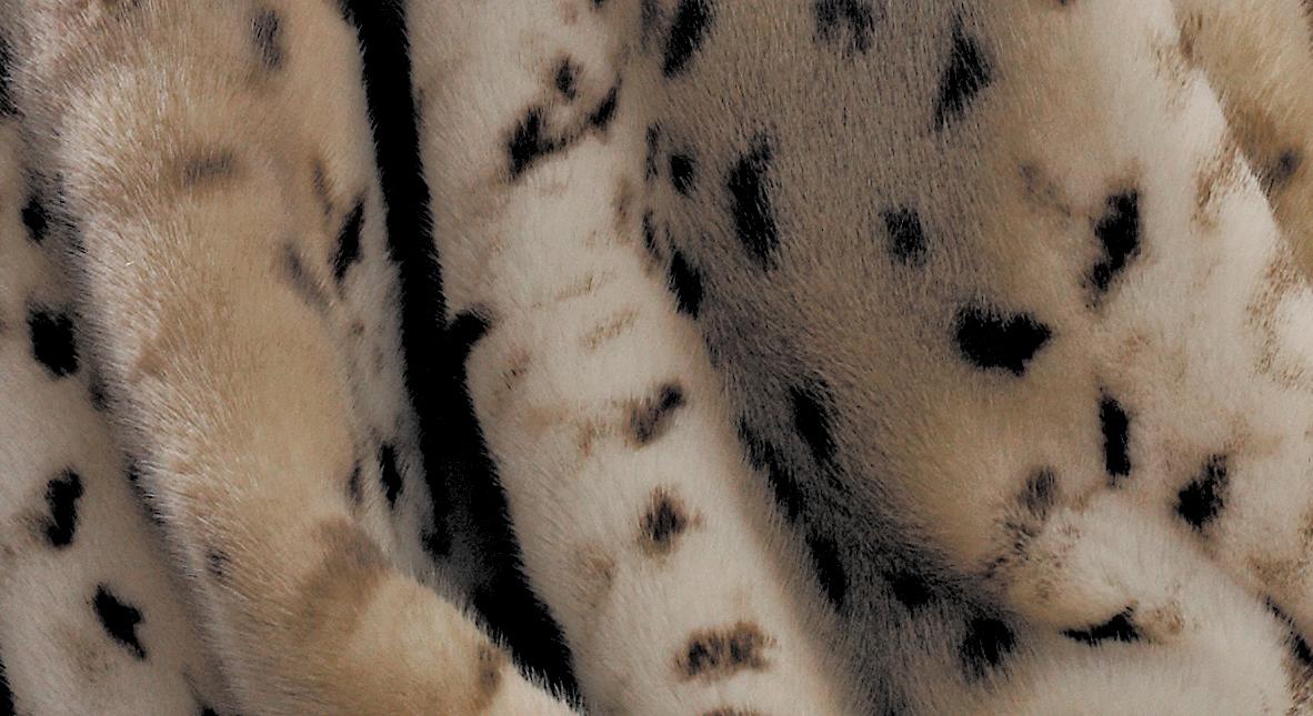 Kunstfelldecke Gepard von Bugatti die Musterung