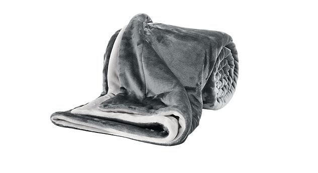 Kuscheldecke s.Oliver Soft-Touch in Grau