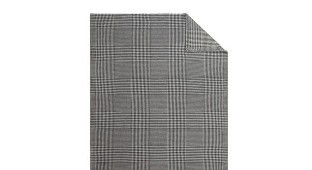 Kuscheldecke Wool in grau