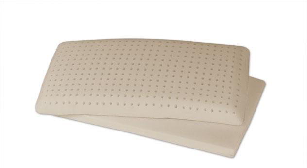 Latex-Nackenstützkissen youSleep mit optional erhältllichem Einlegeboden