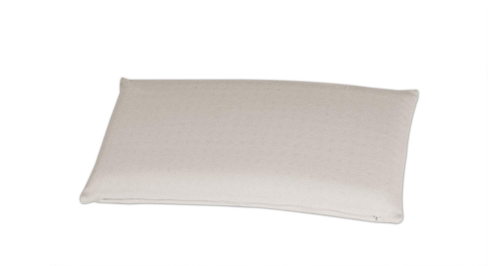 Latex-Nackenstützkissen youSleep mit feuchtigkeitsregulierendem Frottee-Bezug
