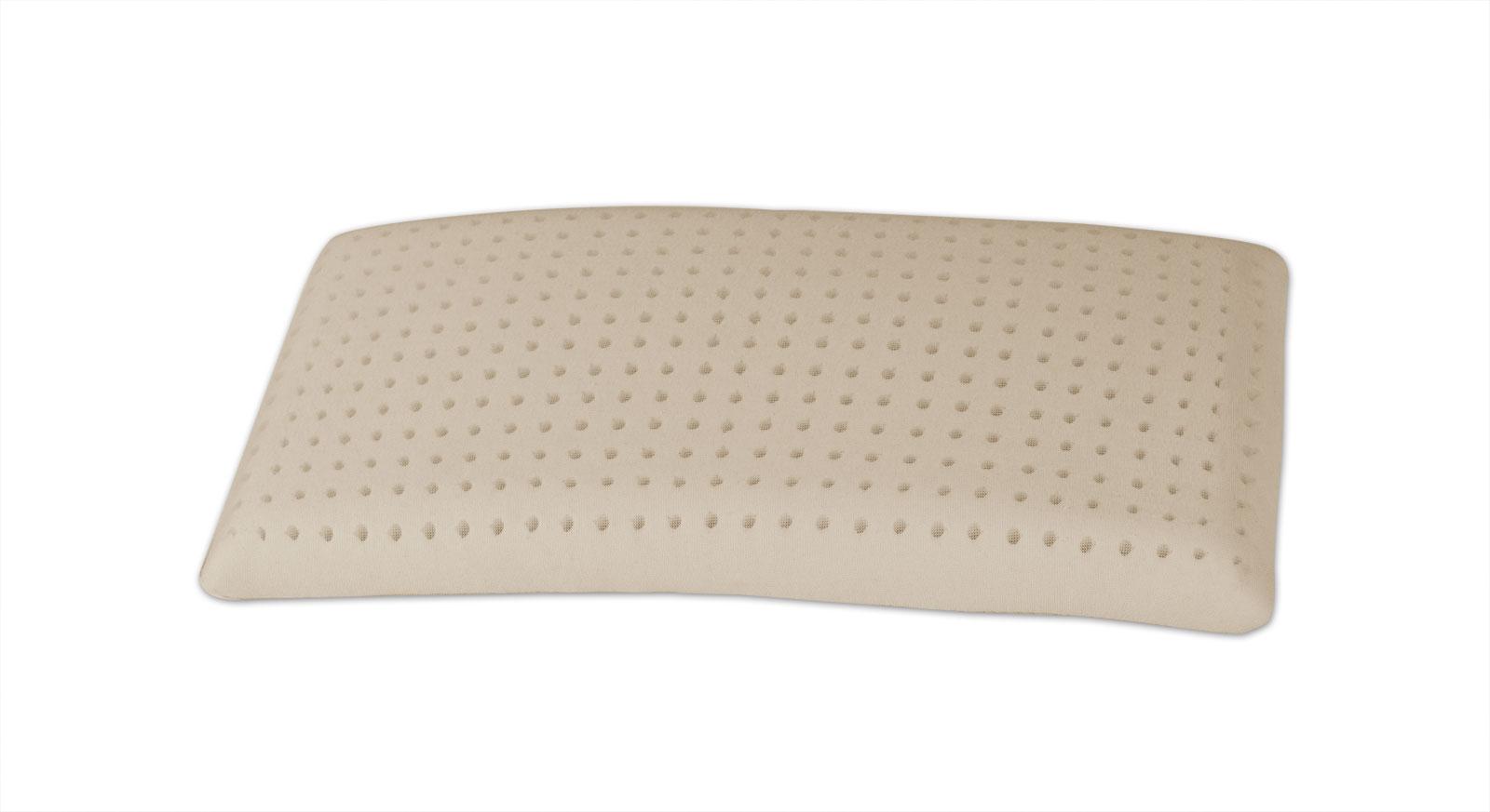 Latex-Nackenstützkissen youSleep mit anpassungsfähigem Latexkern