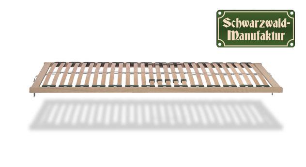 Lattenrost basicflex mit Federleisten in Schichtholz.