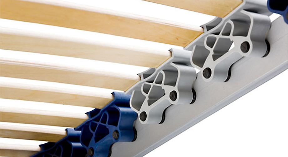 Lattenrost ergoflex mit 28 Leisten