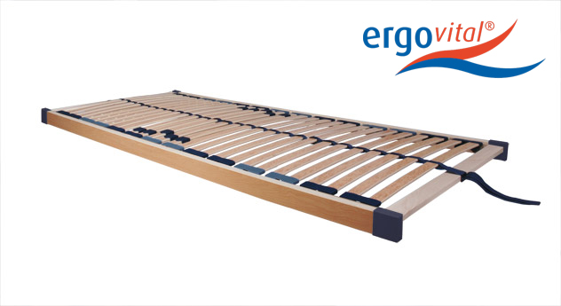 Unverstellbarer Lattenrost ergoflex von ergovital