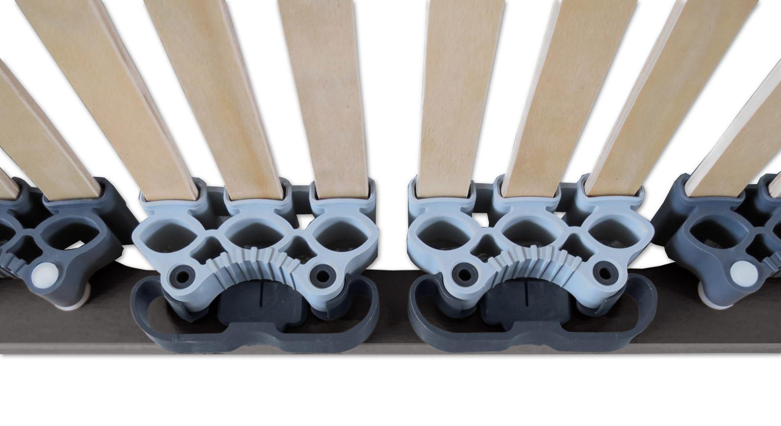 Lattenrost orthowell ultraflex mit 45 Federleisten