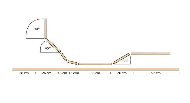 Lattenrost orthowell ultraflex motor mit 7 Zonen