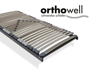 Lattenrost orthowell ultraflex XL mit 7 Zonen