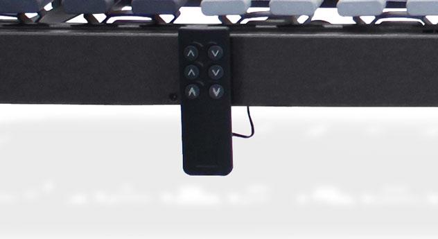 Lattenrost orthowell ultraflex XXL motor inklusive Kabelfernbedienung