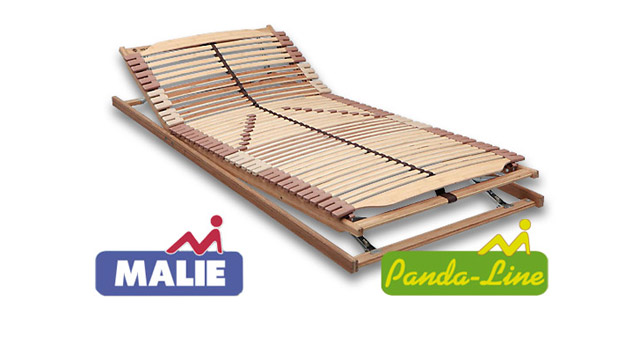 Lattenrost Panda Superflex 42 Federleisten aus Bambus