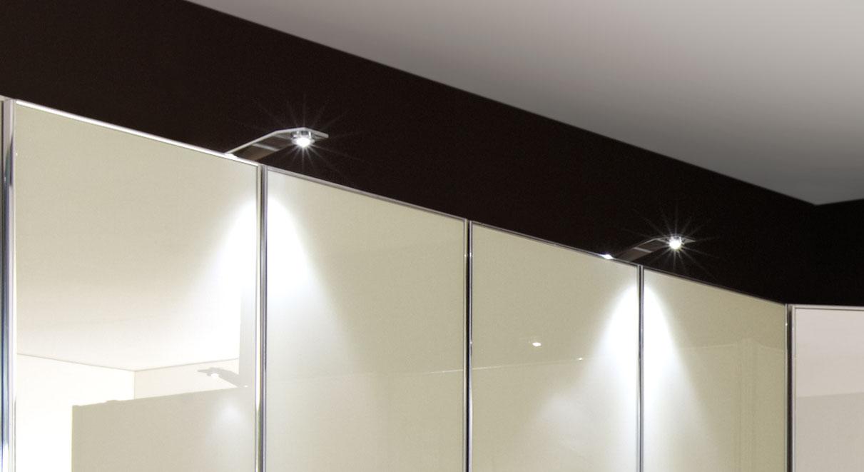 Stilvolle und moderne LED-Aufbauleuchte