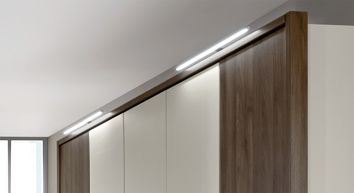 Praktische LED-Aufsatzleuchte