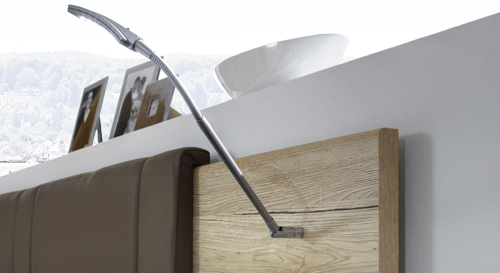 LED-Leseleuchte Swansea für Kopfteil
