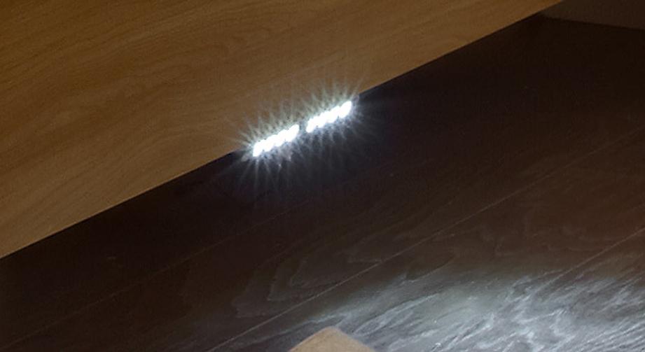 LED-Nachtlicht Dabola zur Befestigung an den Bettseiten