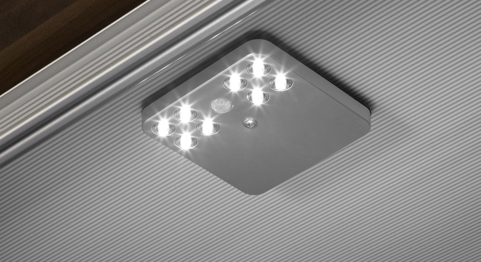 LED Schrankinnenbeleuchtung mit Bewegungsmelder