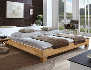 massivholzbetten betten aus massivholz g nstig kaufen. Black Bedroom Furniture Sets. Home Design Ideas
