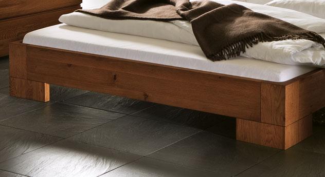 massivholzbett als liege in z b 90x200 cm salvador. Black Bedroom Furniture Sets. Home Design Ideas