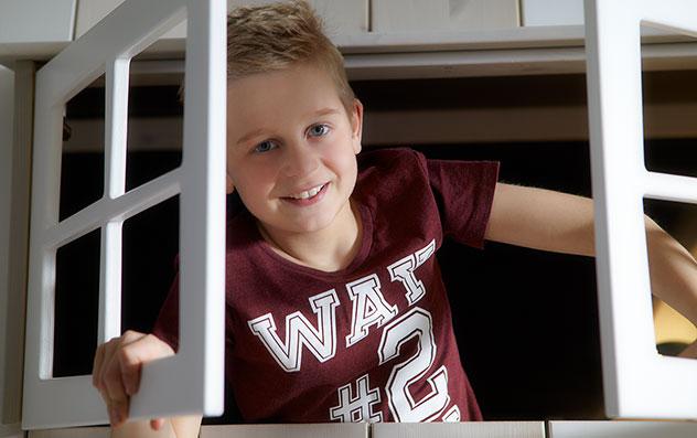 Lifetime Abenteuer und Etagenbett Villa mit Fenster zum Spielen für Jungs