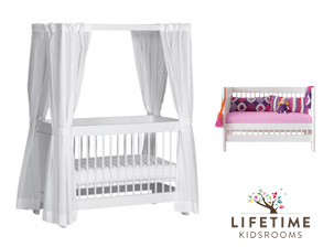 wei es baby himmelbett original von lifetime. Black Bedroom Furniture Sets. Home Design Ideas