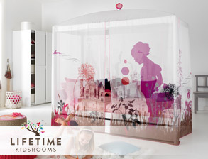 kinderbetten hochbetten und spielbetten von lifetime. Black Bedroom Furniture Sets. Home Design Ideas