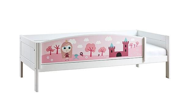 Lifetime Kinderbett Prinzessin mit weiß lackiertem Holz